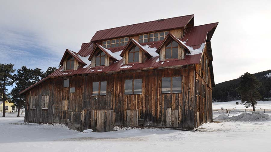 D2C Architects Denver Alderfer Barn