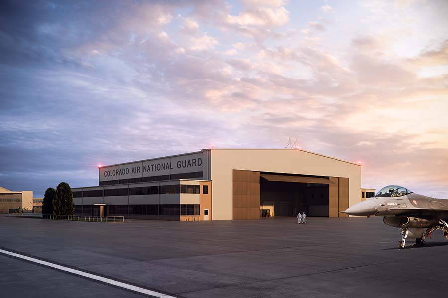 D2C Architects Denver Buckley Hangar 909