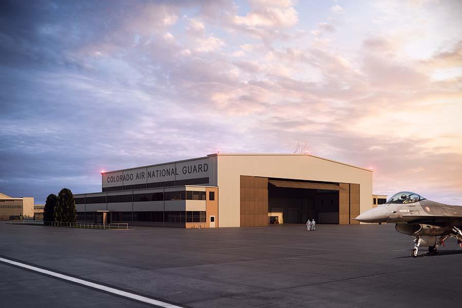 D2C Architects Denver Buckley Hangar 909