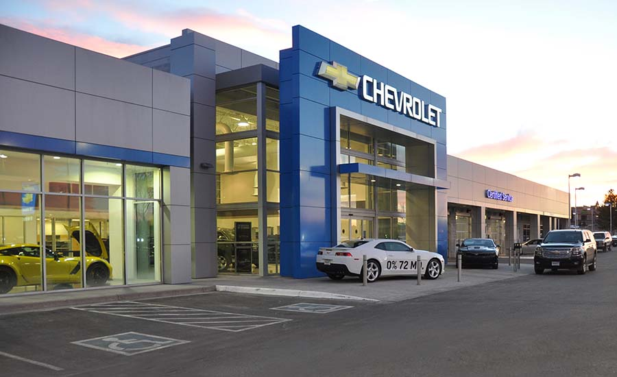 Ed Bozarth Chevrolet at Park Meadows - D2C Architects