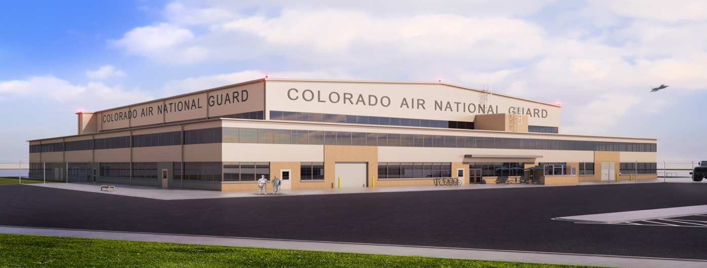 D2C Architects Denver Buckley Air National Guard