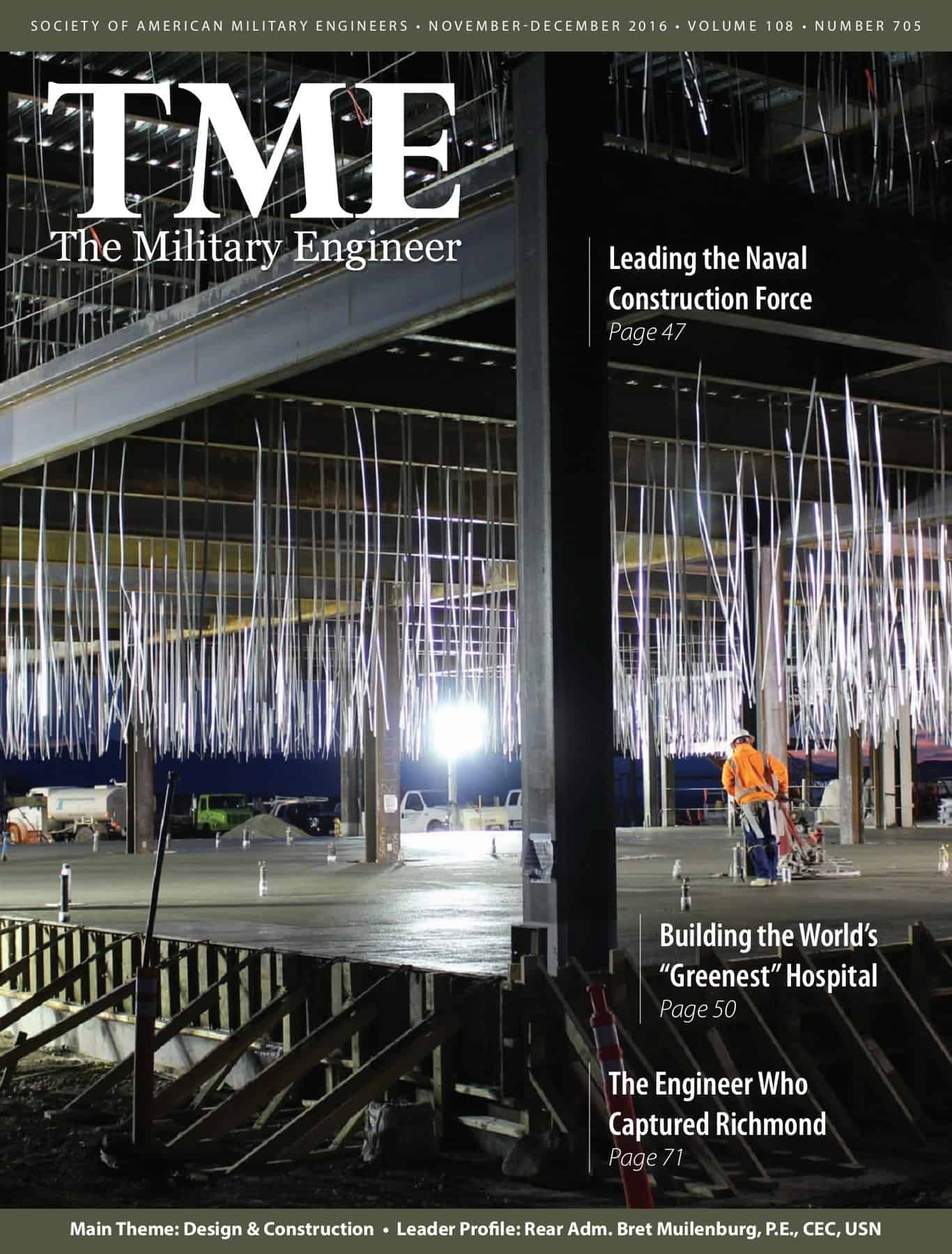 TME Magazine, D2C was featured for their work on Colorado Air National Guard Hangar 909